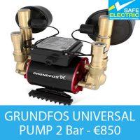 GRUNDFOS UNIVERSAL PUMP 2 Bar
