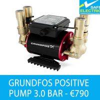 Grundfos positive pump 3br