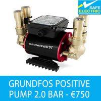 Grundfos positive pump