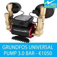 Grundfos universal 3 bar