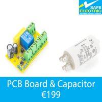 PCB Board & Capacitor