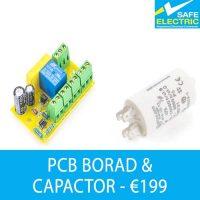 PCB borad and capactor