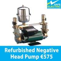 Refurbished Negative Head Pump
