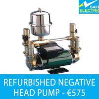 Refurbished negtive head pump