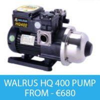 WALRUS HQ 400 PUMP